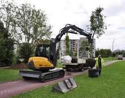 crawler skid excavators mecalac 6mcr