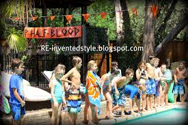 re invented style re ceiving guests percy jackson birthday party
