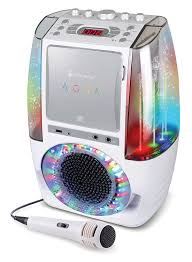 singing machine with disco lights singing machine sml605w agua dancing water fountain bluetooth