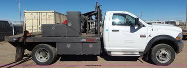 Dodge Ram 5500 - 2012 dodge ram 5500 flatbed truck item k6975 sold march