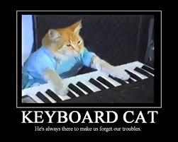 Keyboard Cat Meme - 25 inspirational cat motivators smosh
