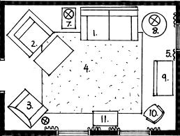 arranging furniture and floorplans interior decorating 101 living