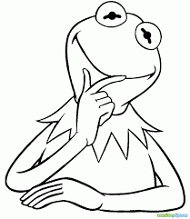 kermit the frog coloring pages qlyview com