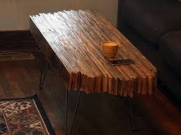 Dyi Coffee Table Diy Coffee Table Made Out Of Pallet Wood Dan Nix