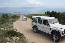 land rover 110 off road jeep safari hvar adventure dalmatia