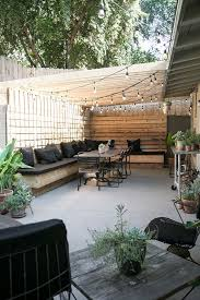backyard inspiration the essentials for a perfect summer backyard concrete slab