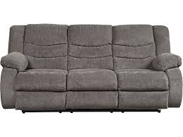 Gray Recliner Sofa Tulen Gray Reclining Sofa Loveseat