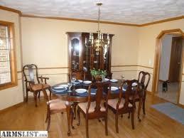 ARMSLIST For SaleTrade Pennsylvania House Dark Cherry Dining - Pennsylvania house dining room set