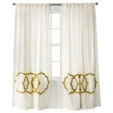 Gold And White Curtains 10 Best Curtains Images On Pinterest Curtain Panels Panel