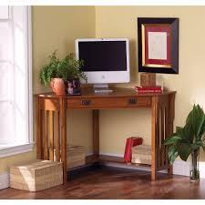 Recessed Monitor Computer Desk Sei Corner Computer Desk Oak Bjs Wholesale Club House
