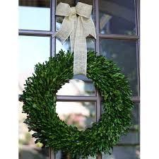 boxwood wreath garden variety boxwood wreath with burlap hanger 22 flora decor