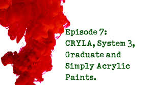 product review 7 daler u0026 rowney acrylic paints cryla system 3