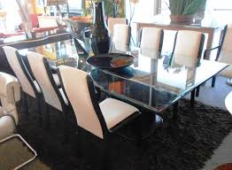 traditional round glass dining table dining room sets tables and chairs from the traditional to the