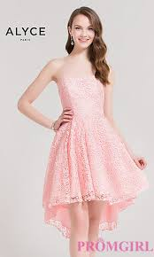 high low prom semi formal party dresses promgirl