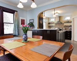 Dining Room Com by Kitchen Open To Dining Room Houzz