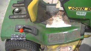 free john deere 175 hydro lawn tractor youtube