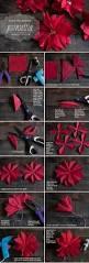 diy poinsettas christmas diy ideas craft flowers paper crafts