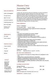 Professional Summary Resume Sample by Accounting Clerk Job Description For Resume Samplebusinessresume