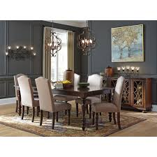 Dining Room Furniture Server Traditional Dining Room Server With Glass Wood Grille Doors By