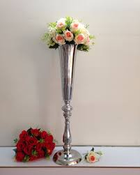 Large Vases Cheap Silver Flower Vases Sheilahight Decorations