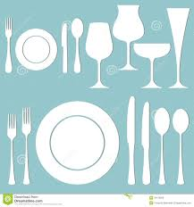 Set Table by Frre Fromal Dinner Clipart Collection