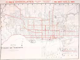 Map Of Toronto Canada by Historical Maps Of Toronto 1892 Toronto Railway Company U0027s Map