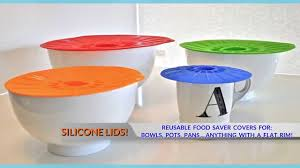 silicone suction lids reusable silicone lids for bowls pots