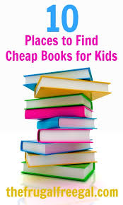 10 places to find cheap books the frugal free gal