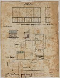 saumarez homestead plans by j w pender u2013 national trust