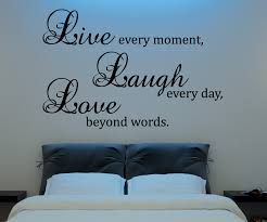 live laugh love wall decal wall art design
