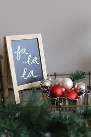 a festive entryway statement this christmas