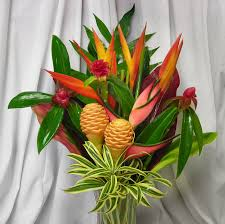 tropical flower arrangements tropical flower arrangements delivery home design and decor