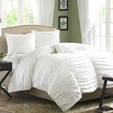 white ruffle bedding white ruffled bed skirt queen home