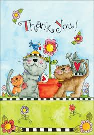 thank you cards for pet loving volunteers it takes two inc