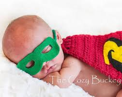 Infant Robin Halloween Costume Robin Mask Etsy