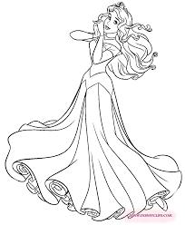 princess aurora coloring 색칠하기 princess