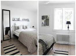 this minimalist scandinavian bedroom design was given a more lived