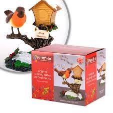 sale fantastic rocking robin decoration sings u0026 moves