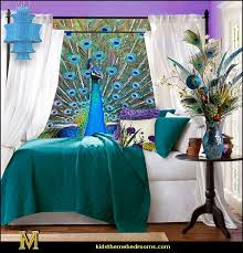 Peacock Bedroom Decor | peacock colors decorating ideas decorating peacock theme decor