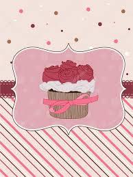 Cherry Cupcake Invitation Card Royalty Beautiful Cupcake Card In Vector U2014 Stock Vector Woodhouse 5232783