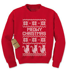 meowy christmas sweater meowy christmas shirt t shirts design concept