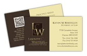 Business Card With Qr Code Business Card Printing St Louis Plastic Heavy U0026 Linen Business