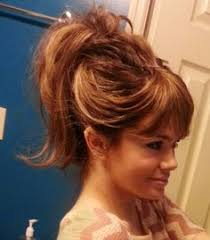 find a hairstyle using your own picture 7 effortless hair hacks for lazy mornings bangs ponytail