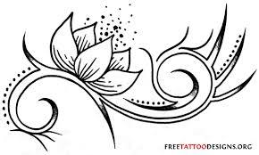 lotus flower tribal tattoo designs 50 flower tattoos for men a