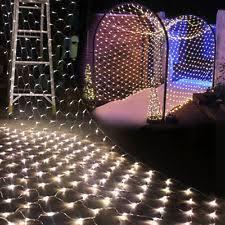 Indoor Curtain Fairy Lights 3m Size Outdoor Fairy Lights Net Ebay