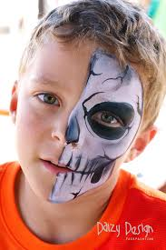 scarey monsters face painting idea pinterest face paintings