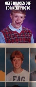 Boy With Braces Meme - poor brian imgur