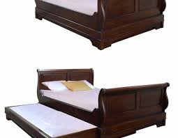 Bed With Pull Out Bed Sleigh Bed With Pull Out Guest Bed U2022 Akd Furniture