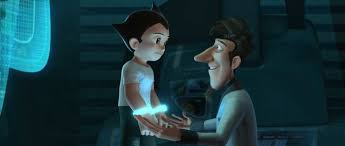 astroboy hair image astro boy voiced by freddie highmore reunites with his