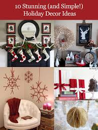 Holiday Home Decor Ideas Do It Yourself Holiday Home Decorations